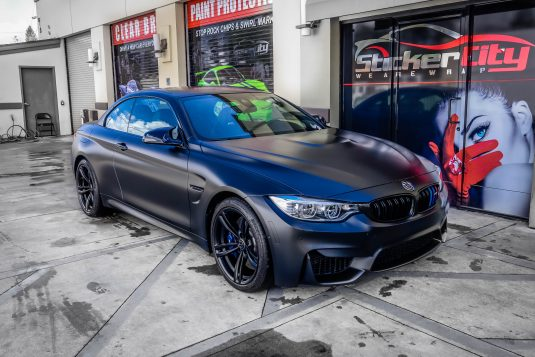 BMW M4 Xpel Stealth Clear Bra