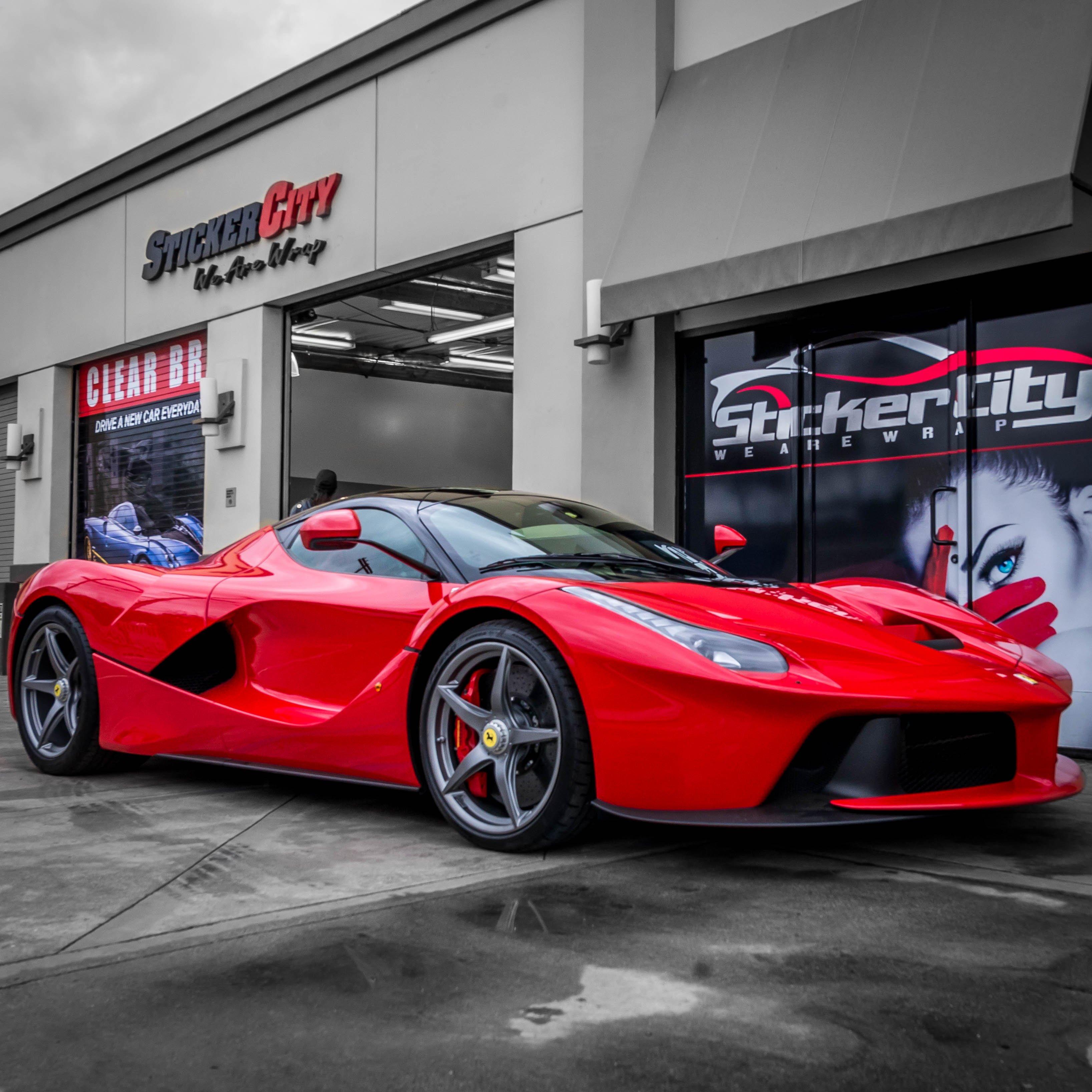Ferrari La Ferrari with XPEL Ultimate