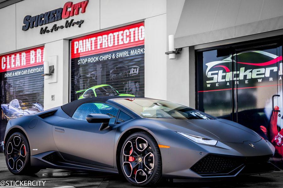 KPMF Matte Black Lamborghini Huracan