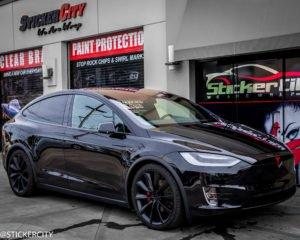Tesla Model X with XPEL Ultimate