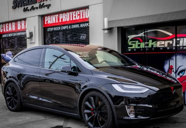Tesla Model X with XPEL Ultimate