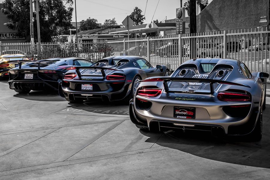 Xpel Stealth on all 3 HyperCars