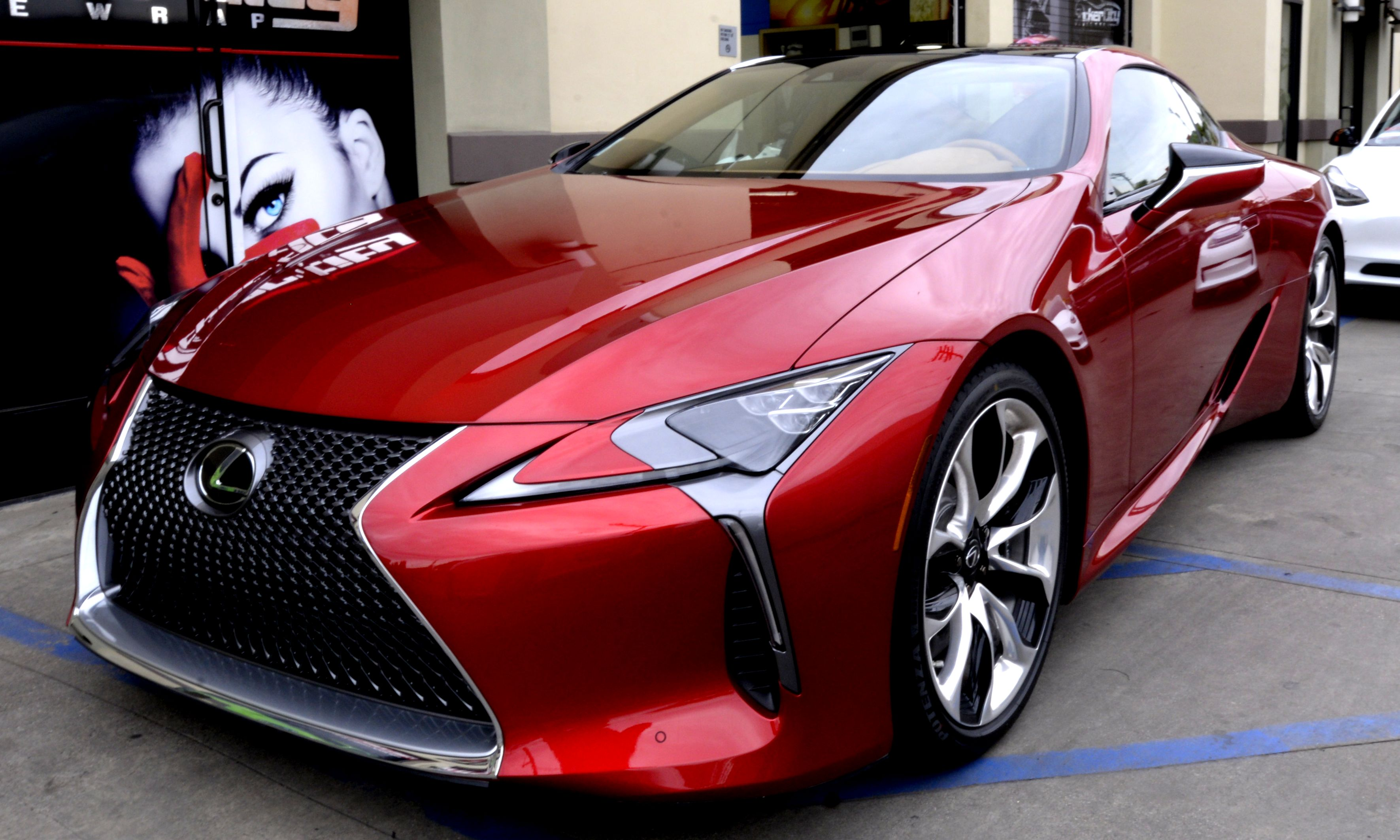 Xpel paint protection on Lexus LC 500