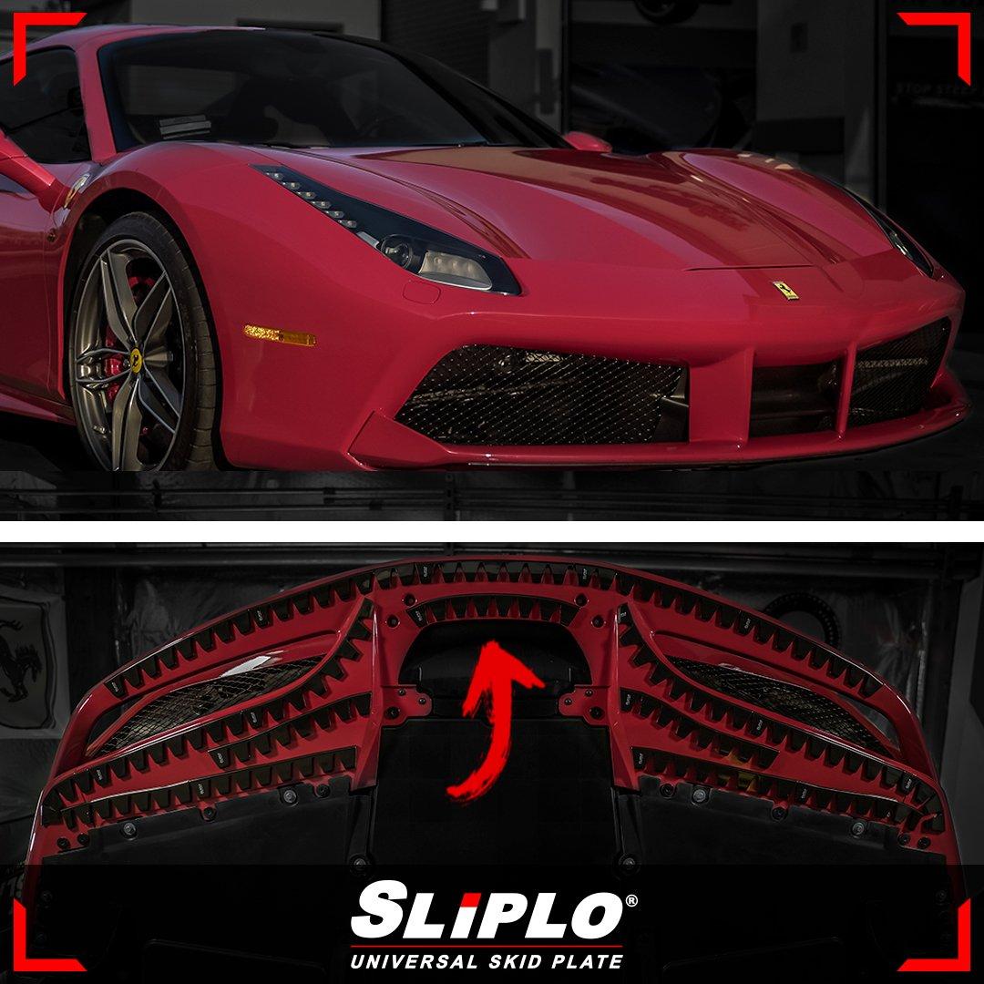 Ferrari 488 SLIPLO Skid Plate