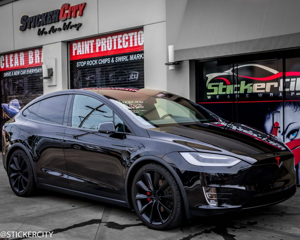 Tesla Model X with Xpel