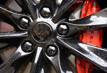 Gloss Black Tesla Wheels