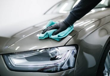 waxing car with ppf